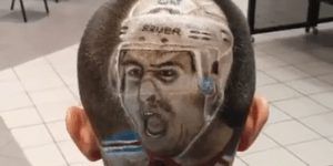Playoff Beards Are Old News — Doing This To Your Head In The Name Of Playoff Hockey Is True Fandom