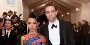 Robert Pattinson's Girlfriend FKA Twigs' Met Gala Dress Had A Penis On It, Hopefully Not His