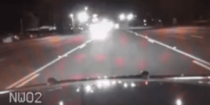 Watch This Drunk Guy Drive Head-On Into A Parked Cop Car And Be Happy You're (Hopefully) Not This Stupid