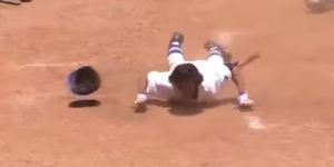 Memphis Player Scores On Routine Grounder To Shortstop In One Of The Most Bizarre Plays You'll Ever See
