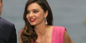 Miranda Kerr DAMN NEAR Fell Out Of Her Top At The Cannes Film Festival