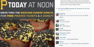 What Are You Supposed To Do With The Sex Donuts The Pittsburgh Pirates Are Selling?