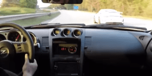 Porsche 991 GT3 Races A 350Z Procharger On The Highway When Out Of Nowhere A Sleeper Drops The Mic