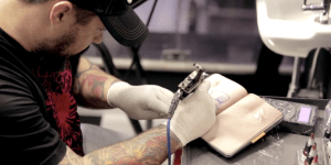 There's Now A 'Skin Book' Made Of Synthetic Flesh For Aspiring Tattoo Artists To Practice In And WHOA
