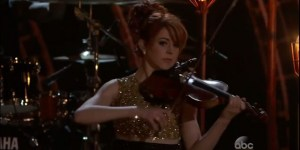 How Hot Was The Redhead Violinist In The Paul Walker Tribute At Last Night's Billboard Awards?