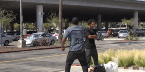 When 'How To Win A Street Fight In The Hood' Backfires And Prankster Gets Knocked Out