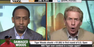 Skip Bayless Eviscerated Tiger Woods For His U.S. Open Performance, Stephen A. Smith Wants Him To Retire