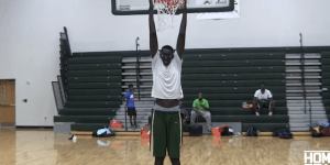 This 7'6″ Basketball Star Doesn't Really Care About Playing In The NBA Because He's Got His Sights Set On A Different Goal