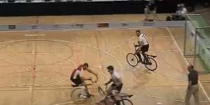 Cycle Ball Is The Most Ridiculous Sport Ever Played, And It's Not Even Close