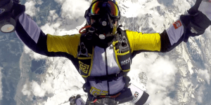 Watch This Insane GoPro Footage From A Skydiver's 33,000 Foot Drop Above Mont Blanc For An Instant Adrenaline Rush