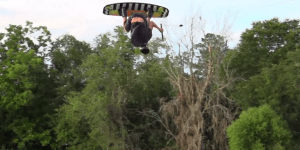Bro Lands First Ever Wakeboarding Triple Flip In Footage That'll Blow Your Mind