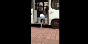 Kid Tries To Prank Bus Driver, Fails And Gets Owned Instead