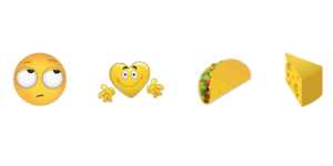 There's Now A Taco Emoji, A Burrito Emoji, And A Poppin' Bottles Emoji. My Life Is Complete