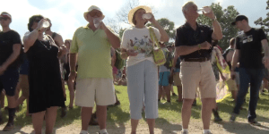 'I Bet You That I'm Higher Than A Kite' — Grandparents Go To Bonnaroo For Their 1st Time (Video)