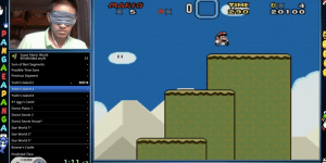 This Guy Is So Good At 'Super Mario World' That He Beat It In 23 Minutes…While Wearing A Blindfold
