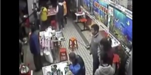 Man Who Really Loves Noodles Continues To Eat His Ramen As 40-Person Knife Fight Breaks Out Around Him