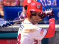 Bryce Harper Hit A Home Run On July 4th Using An American Flag Bat Because He's A Goddamn Patriot