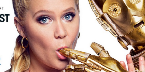 Turns Out That Lucasfilm And Disney Didn't Appreciate That Racy GQ Shoot With Amy Schumer Banging 'Star Wars' Droids
