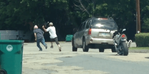 Instant Road Rage Regret When Guy Gets Walloped By An Aluminum Bat