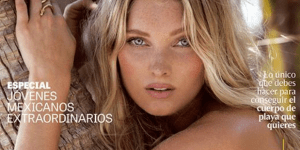 Stunning Victoria's Secret Model Elsa Hosk Goes Beyond Handbras In Sexy, New Photoshoot