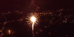 We Were Sent A Ton Of 'Drone Over Fireworks' Videos This Weekend — Here Are Two Of Our Favorites