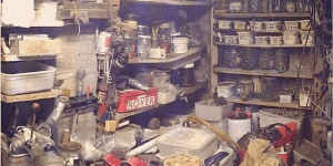 Guy Pays Tribute To Deceased Grandpa By Doing Something Really Amazing With His Garage Full Of Crap