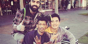 Bro Spends Days Off From Work Giving Homeless Something Few People Ever Thought To Give