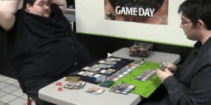 Watch The Biggest Nerd Ever Completely Blow His Shit After He Loses A Game Of 'Magic: The Gathering'