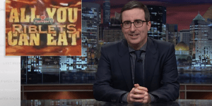 John Oliver Explains How Much Food America Wastes Each Year And IT. IS. A. LOT.