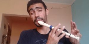 This Dude's Mesmerizing Freestyle On The Recorder Will Blow Your Hot Cross Buns Right Out Of Your Rear End