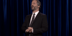Judd Apatow Took Shots At Bill Cosby Being A Rapist While Doing Stand Up On 'The Tonight Show'