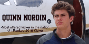 The Best High School Kicker In The Country Commits To Penn State With A RIDICULOUS Private Jet Music Video