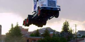 Daredevil SHATTERS World Record By Flying His Semi-Truck 166-Feet