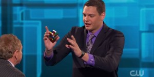 Dude Busts Out Rubik's Cube Tricks So Sick They Fool Penn & Teller