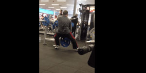 What The Hell Is This Crossfit Dad At The Gym Doing?!?!