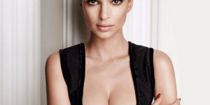 Sensational Emily Ratajkowski Wearing Nothing But A Towel Is Really Something You Want To See