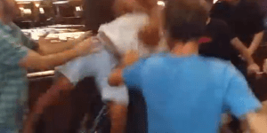 Bouncer Who BRUTALLY Choke Slammed Dude's Face Into The Pavement, Seems Ready For The WWE