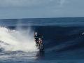 This Is Not Trick Photography, This Is A Bro Riding A Wave On A Dirt Bike