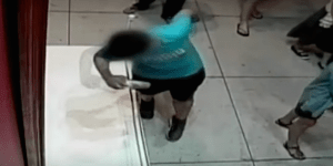 Kid Stumbles Over Museum Display And Accidentally Punches Hole Through Million Dollar Painting