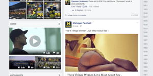Michigan Football Facebook Page Hacked And The Troll Job Is Absolutely Piss Poor