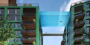 This 10-Story High, 80-Foot Long 'Sky Pool' Is Amazing And Terrifying At The Same Time
