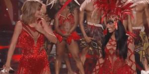 Taylor Swift And Nicki Minaj Squash Their Beef And Sing Bad Blood Together At The MTV VMAs