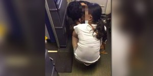 Look At This Mom Helping Her Kid Take A Dump In The Plane Cabin Because The Bathrooms Were 'Too Small'