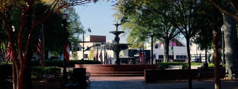 Start Enjoying A Short Walk To The Marietta Square Art Walk