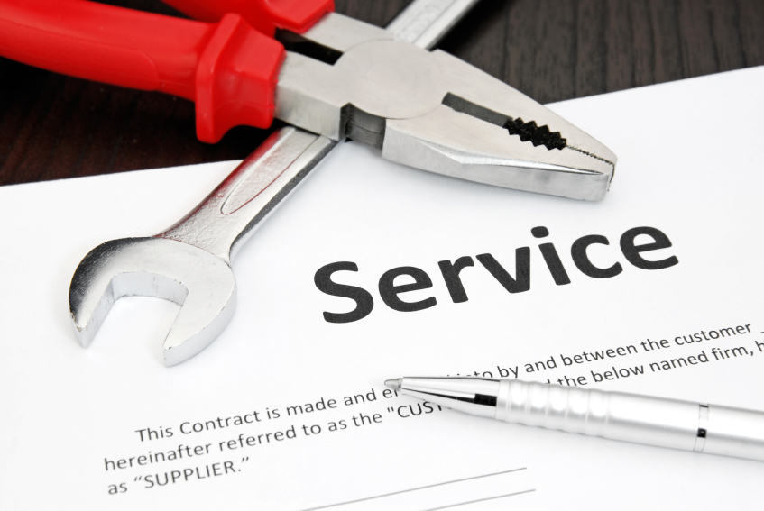 Why choose a service contract over a warranty - Brock Office Automation - service contract