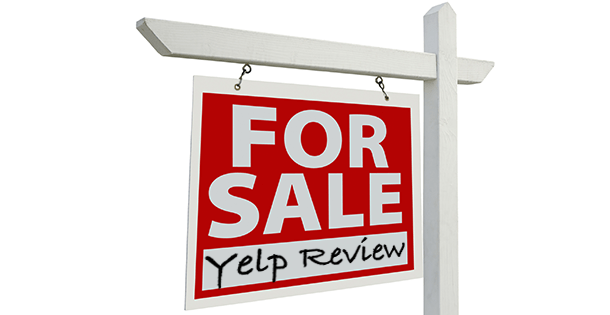 Yelp Review For Sale