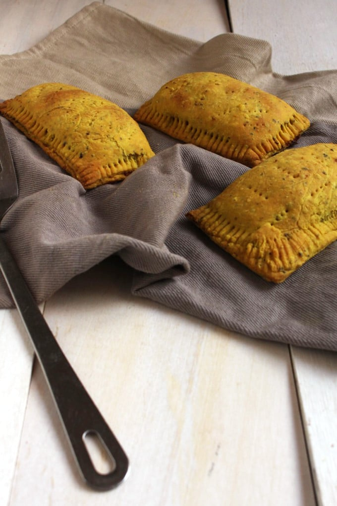 Vegan Jamaican Patties- Get your bake on, not bacon, with this easy recipe for vegan Jamaican patties.