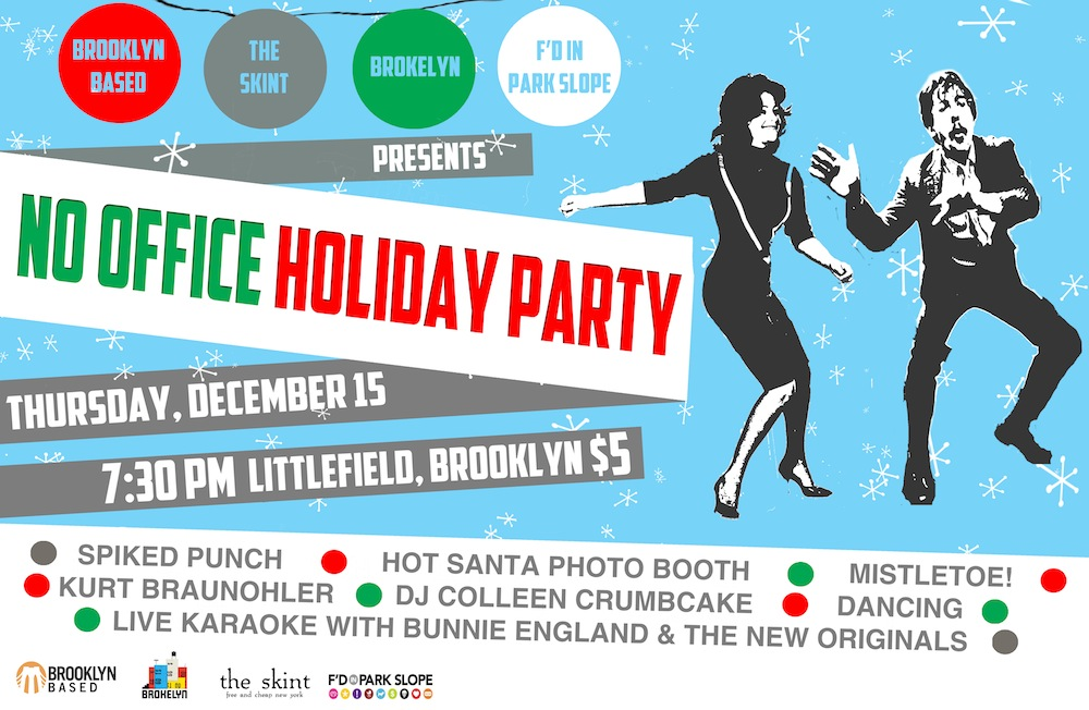 No office holiday party? No problem! Presenting the No Office - company party invitation templates