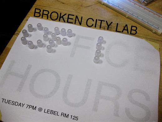 Broken City Lab Office Hours