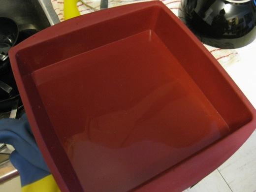 silicon baking pan